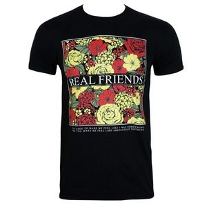 Real friends flower band tee